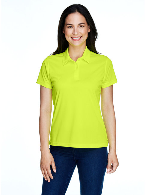 Team 365 Ladies' Command Snag Protection Polo - Safety Yellow