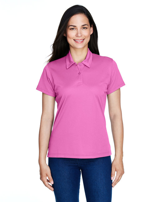 Team 365 Ladies' Command Snag Protection Polo - Sprt Chrity Pink