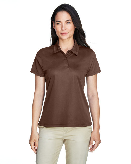 Team 365 Ladies' Command Snag Protection Polo - Sprt Dark Brown