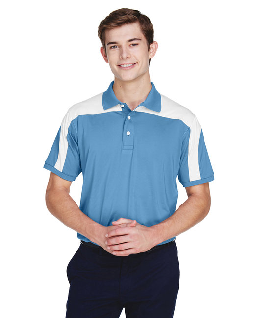 Team 365 Men's Victor Performance Polo - Sport Light Blue