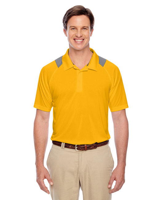 Team 365 Men's Innovator Performance Polo - Sp Athletic Gold