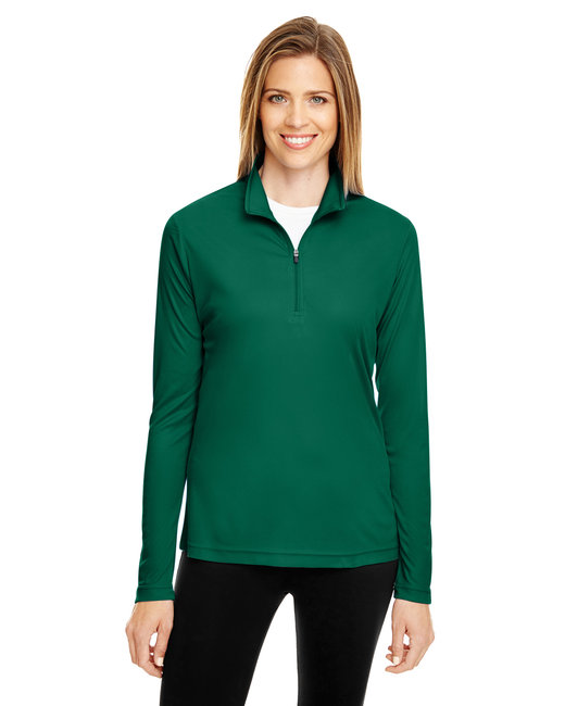 Team 365 Ladies' Zone Performance Quarter-Zip - Sport Forest
