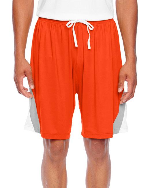Team 365 Men's Tournament Short - Sport Orange