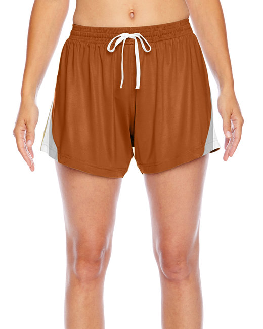 Team 365 Ladies' Tournament Short - Sp Burnt Orange