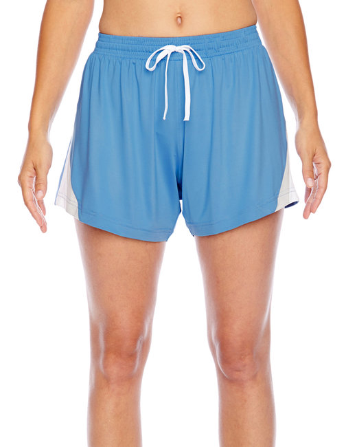 Team 365 Ladies' Tournament Short - Sport Light Blue
