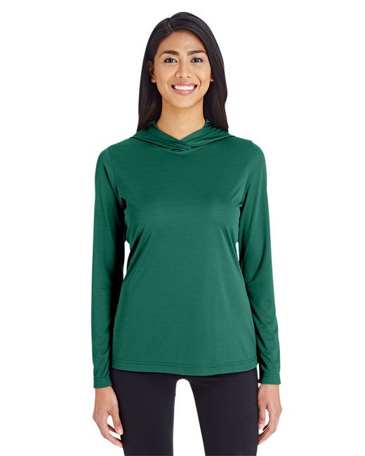 Team 365 Ladies' Zone Performance Hoodie - Sport Forest