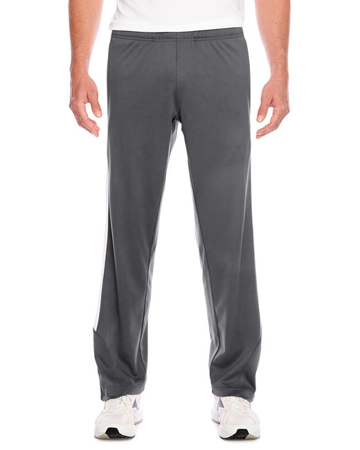 Team 365 Men's Elite Performance Fleece Pant - Sp Graphite/ Wht