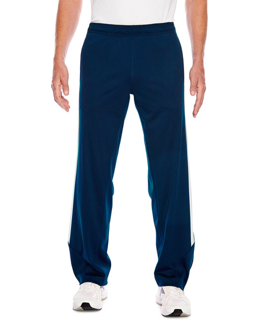 Team 365 Men's Elite Performance Fleece Pant - Sp Dk Navy/ Wht