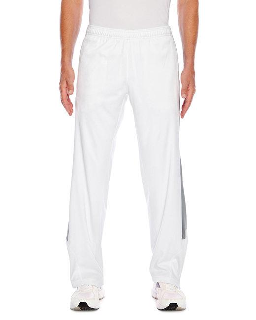 Team 365 Men's Elite Performance Fleece Pant - White/ Sp Grpht