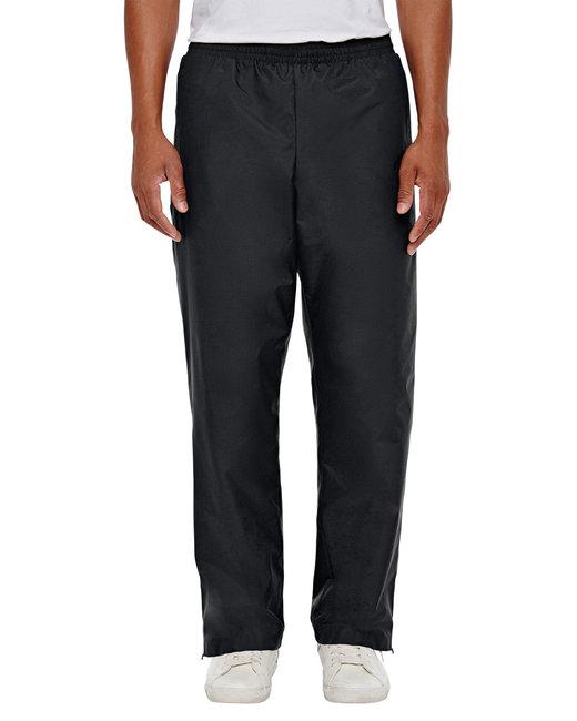 Team 365 Men's Conquest Athletic Woven Pant - Black