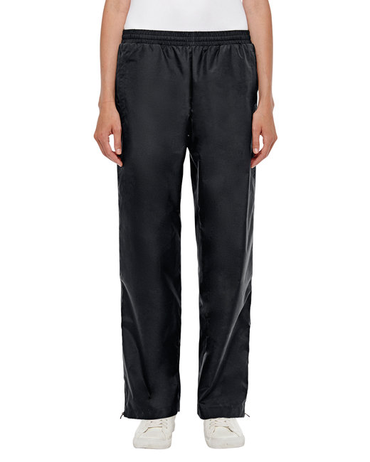 Team 365 Ladies' Conquest Athletic Woven Pant - Black