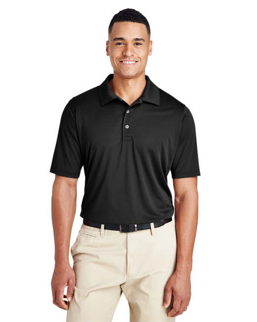Team 365 Men's Zone Performance Polo - Black