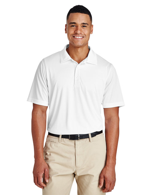 Team 365 Men's Zone Performance Polo - White