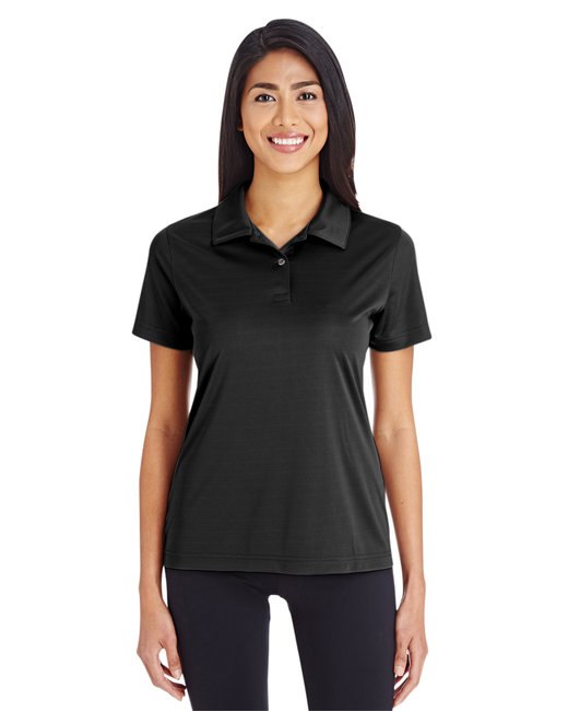 Team 365 Ladies' Zone Performance Polo - Black