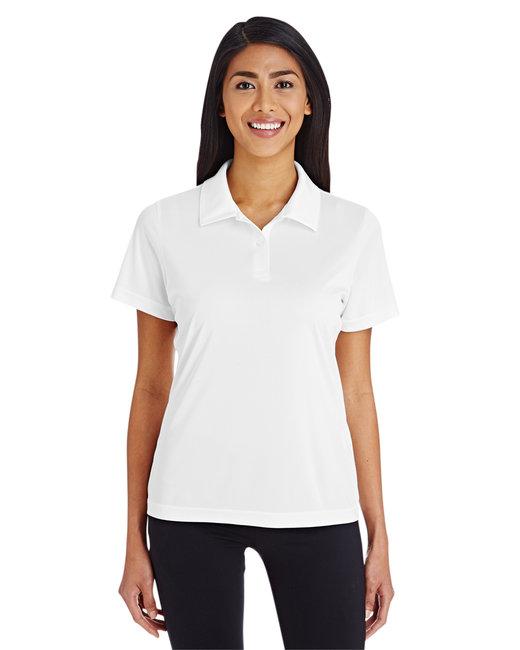 Team 365 Ladies' Zone Performance Polo - White