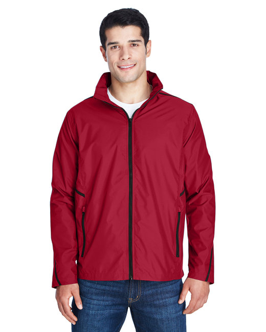 Team 365 Adult Conquest Jacket with Mesh Lining - Sp Scarlet Red