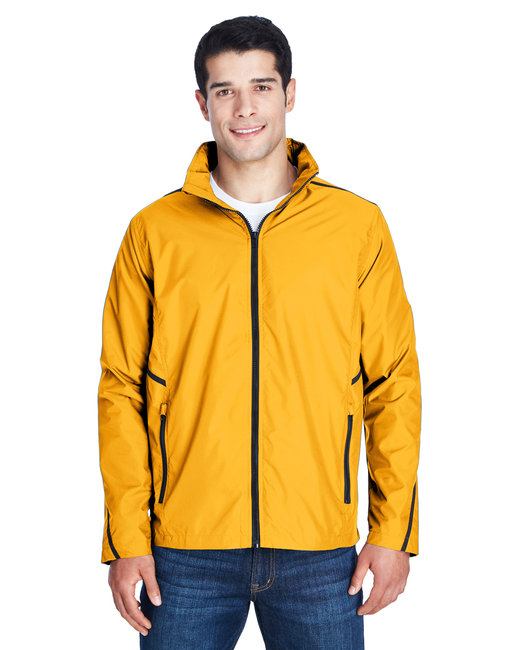 Team 365 Adult Conquest Jacket with Mesh Lining - Sp Athletic Gold