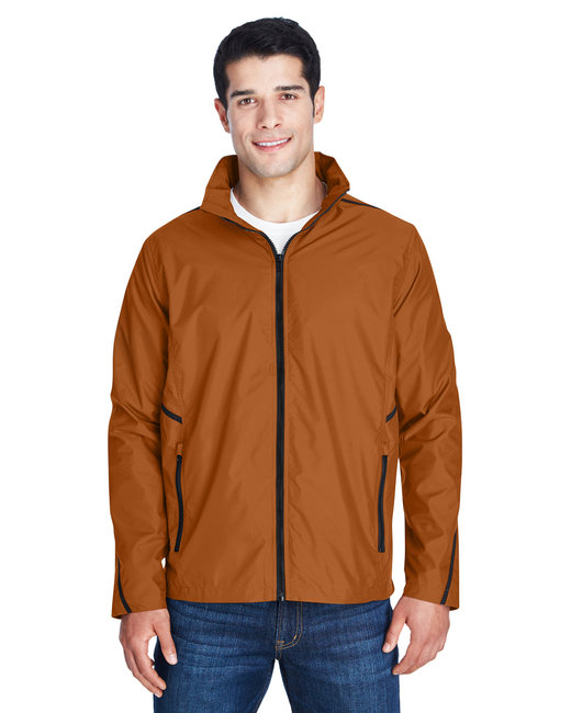 Team 365 Adult Conquest Jacket with Mesh Lining - Sp Burnt Orange