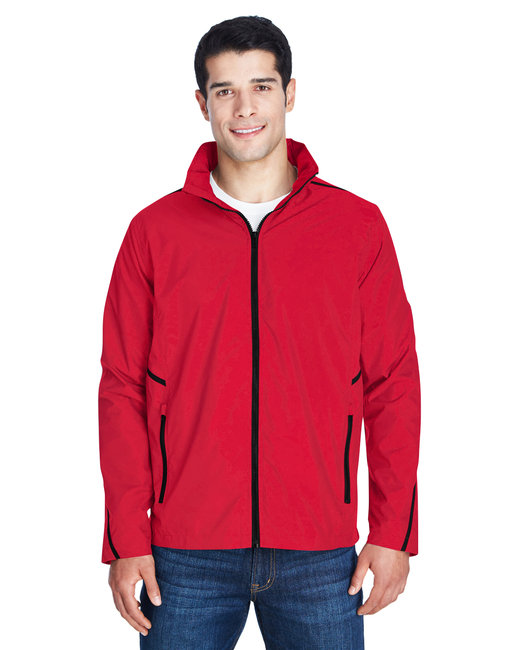 Team 365 Adult Conquest Jacket with Mesh Lining - Sport Red