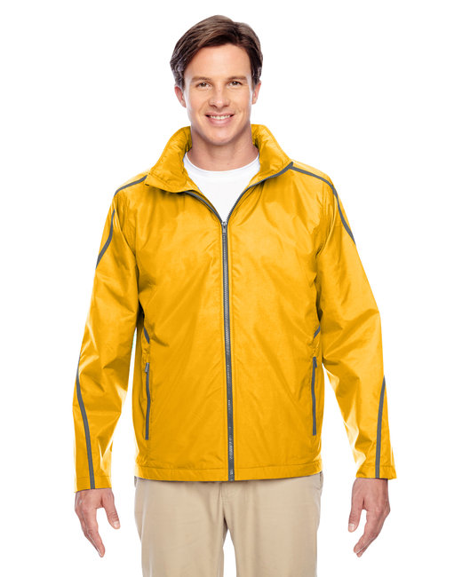 Team 365 Adult Conquest Jacket with Fleece Lining - Sp Athletic Gold