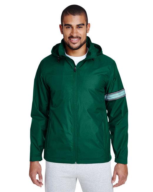 Team 365 Men's Boost All-Season Jacket with Fleece Lining - Sport Forest