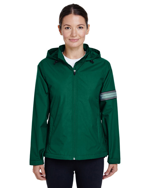 Team 365 Ladies' Boost All-Season Jacket with Fleece Lining - Sport Forest