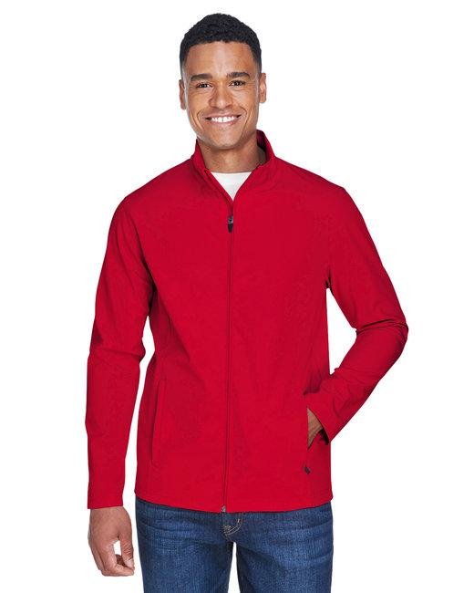 Team 365 Men's Leader Soft Shell Jacket - Sport Red