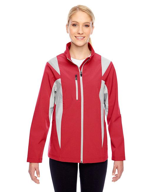 TT82W Team 365 Ladies' Icon Colorblock Soft Shell Jacket