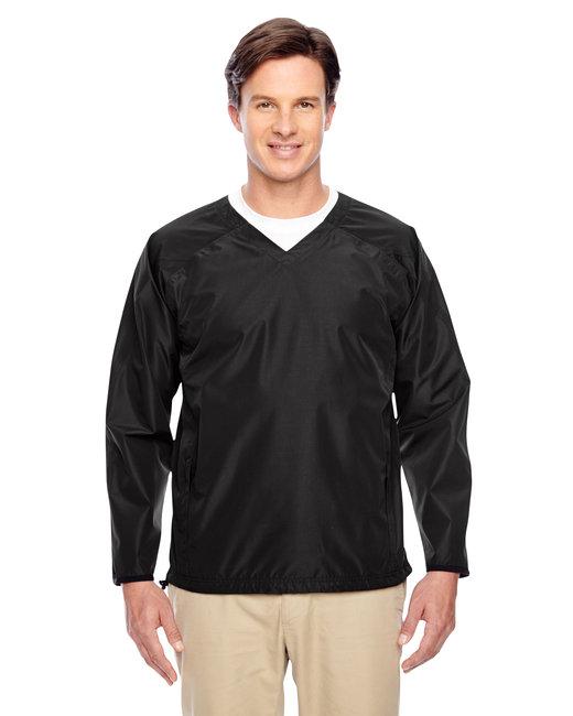 Team 365 Men's Dominator Waterproof Windshirt - Black