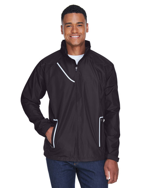 Team 365 Men's Dominator Waterproof Jacket - Black