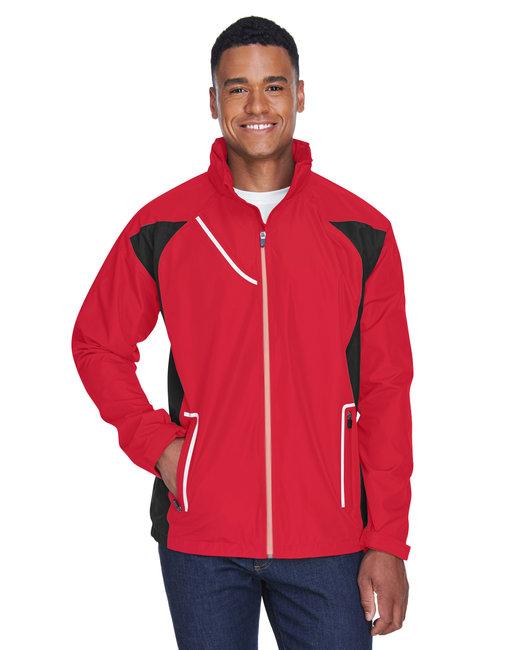 Team 365 Men's Dominator Waterproof Jacket - Sport Red