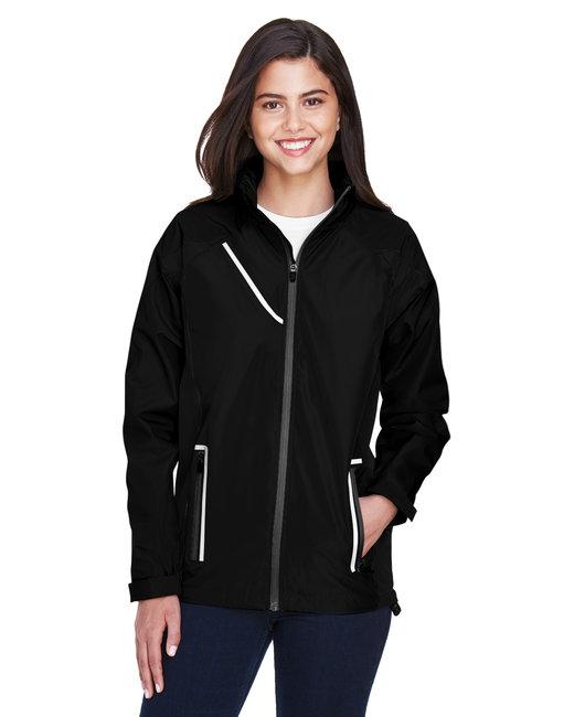 Team 365 Ladies' Dominator Waterproof Jacket - Black