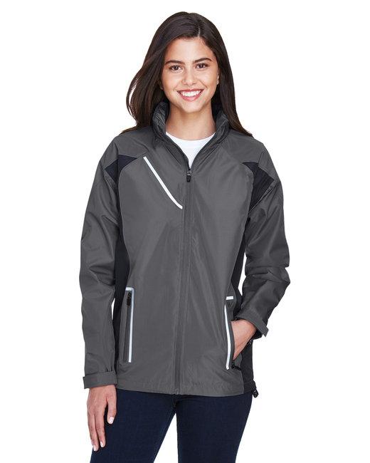 Team 365 Ladies' Dominator Waterproof Jacket - Sport Graphite