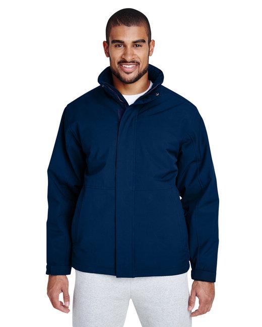 Team 365 Men's Guardian Insulated Soft Shell Jacket - Sport Dark Navy