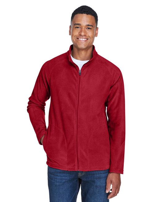 Team 365 Men's Campus Microfleece Jacket - Sp Scarlet Red