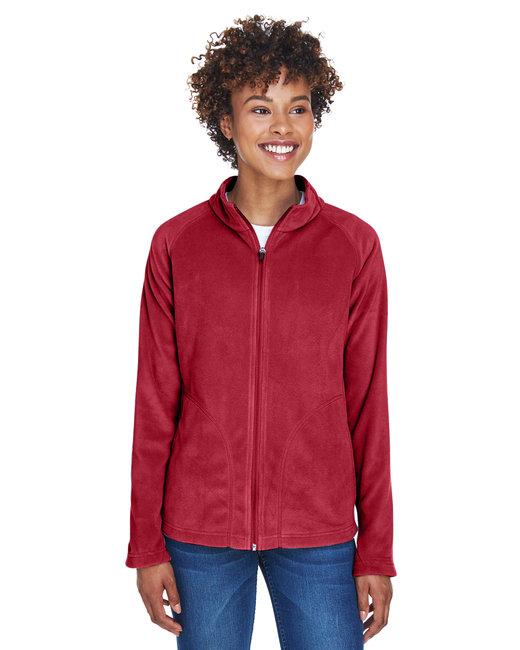 Team 365 Ladies' Campus Microfleece Jacket - Sp Scarlet Red