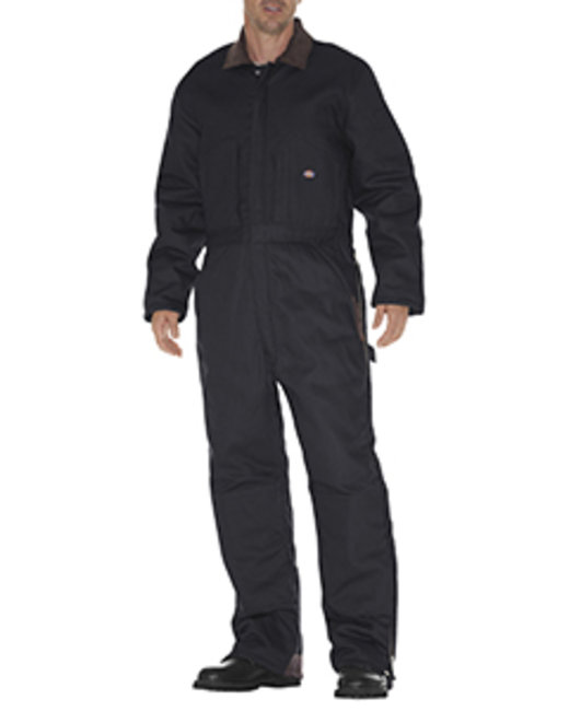 Dickies Unisex Duck Insulated Coverall - Black  L
