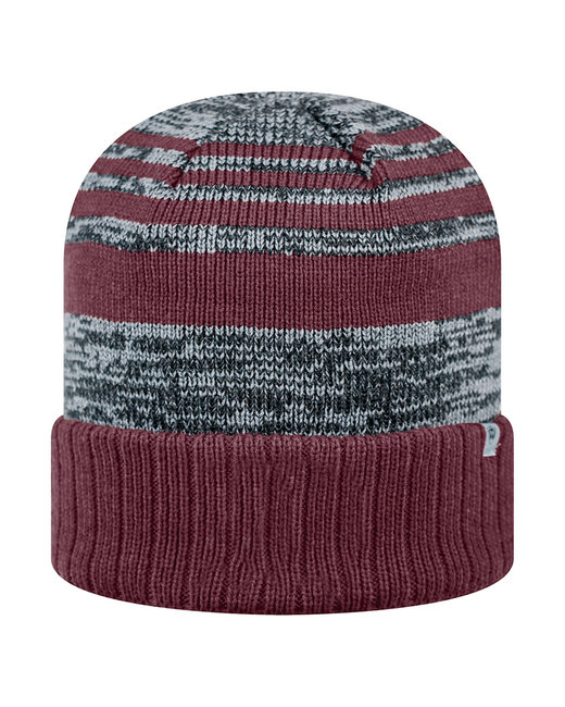 Top Of The World Adult Echo Knit Cap - Burgundy