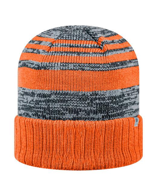 Top Of The World Adult Echo Knit Cap - Orange