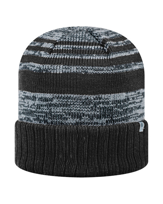 Top Of The World Adult Echo Knit Cap - Black