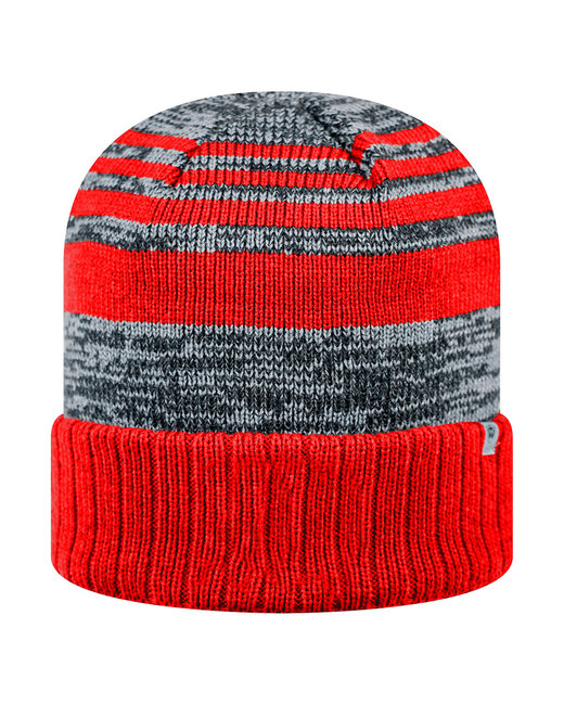 Top Of The World Adult Echo Knit Cap - Red