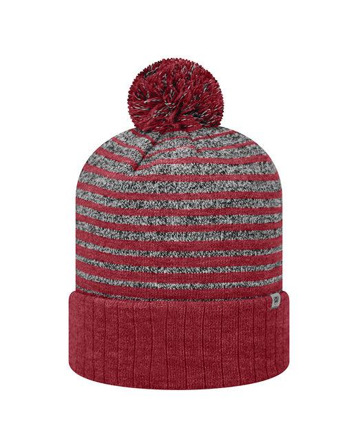 Top Of The World Adult Ritz Knit Cap - Cardinal