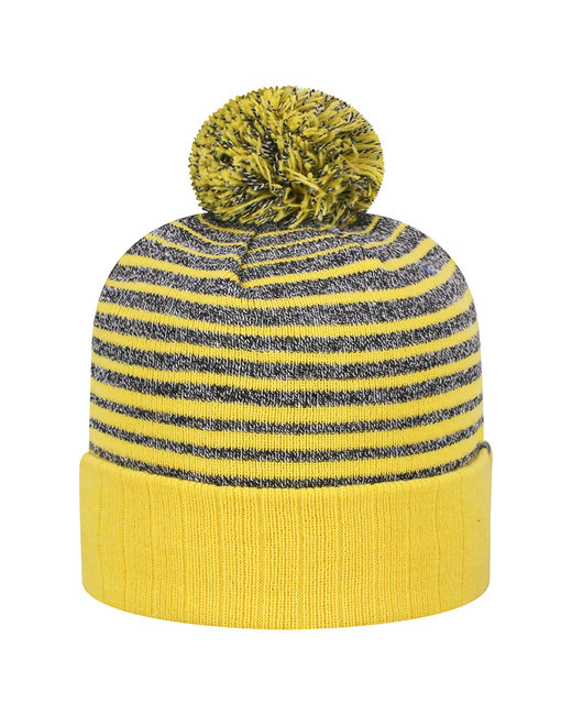 Top Of The World Adult Ritz Knit Cap - Gold