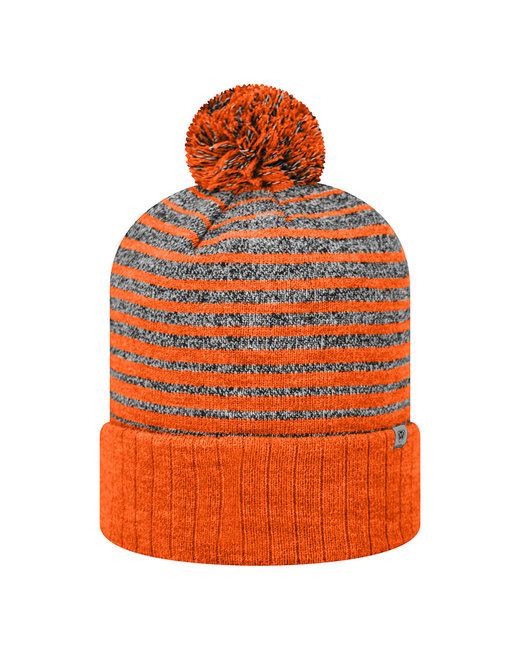 Top Of The World Adult Ritz Knit Cap - Orange