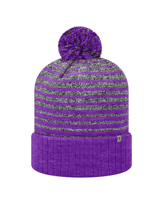 Top Of The World Adult Ritz Knit Cap - Purple