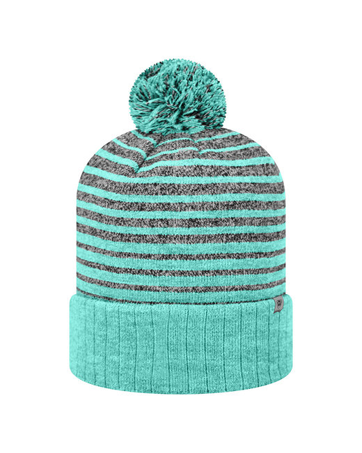 Top Of The World Adult Ritz Knit Cap - Tiff Blue