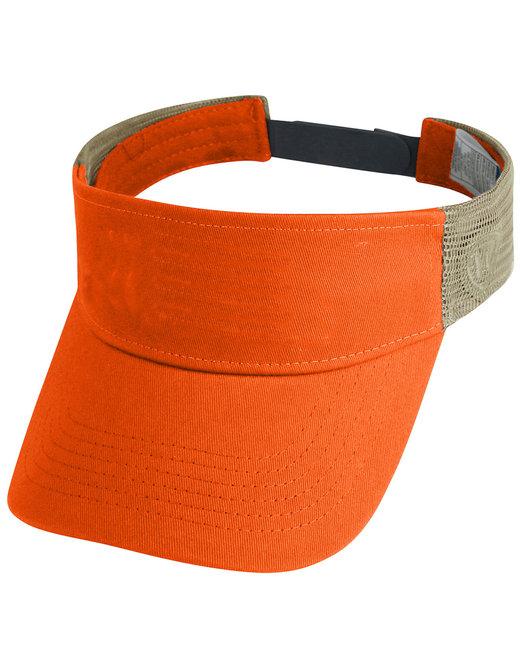 Top Of The World Adult Brink Visor - Orange