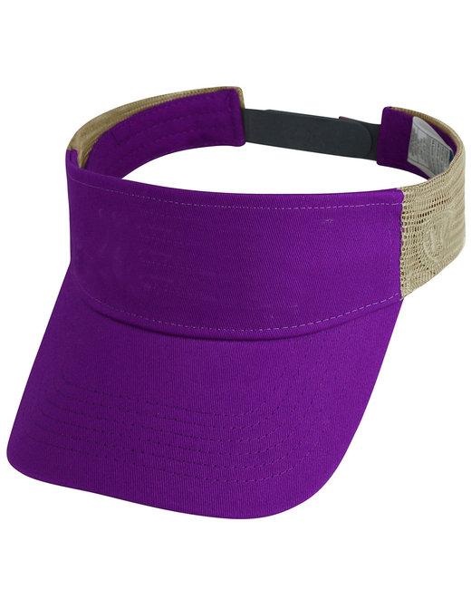 Top Of The World Adult Brink Visor - Purple