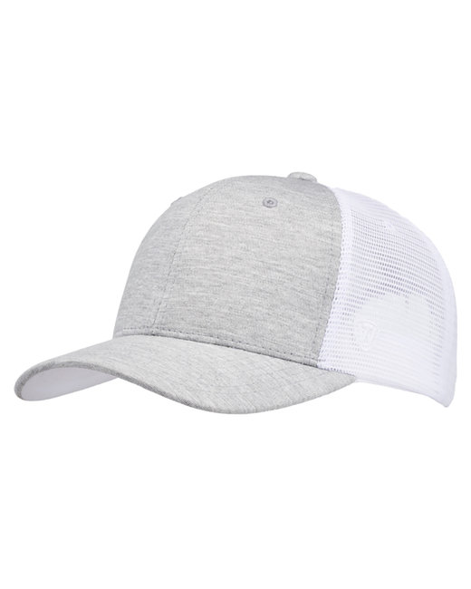 Top Of The World Cutter Jersey Snapback Trucker Hat - White