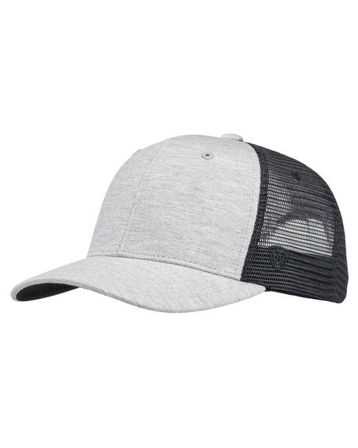 Top Of The World Cutter Jersey Snapback Trucker Hat - Black